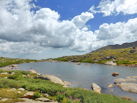 The Roosevelt Lakes in the Mt Evans Wilderness